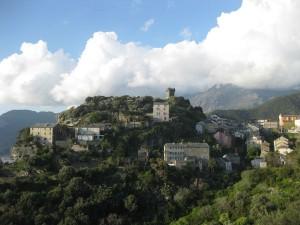 Nonza sur la côte Ouest du Cap Corse