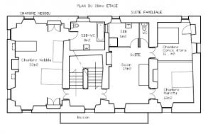 plan 2ième étage