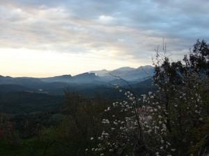 Le Nebbiu vue depuis le village de Vallecalle